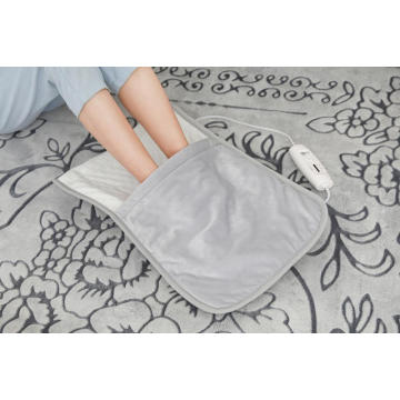 ETL Approved Multiple Use Foot Warmer With Super Soft Cover / Regular Heating Pad