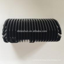 Aluminium-Druckguss-Kühlkörper eloxiert schwarz
