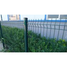 powder coating CM post welded iron wire mesh fence
