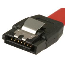 SATA 7pin Stecker auf Stecker mit Latch SATA Kabel