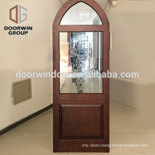 Hot sale solid wooden interior door bedroom fancy wood door design luxurious doors exterior round