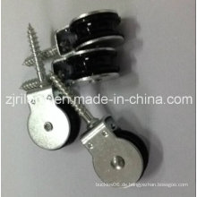 Riemenscheibe mit schwarzem Nylon einzeln 25mm mit Schraube