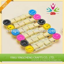 Clipes de papel novo produto clip de madeira colorida