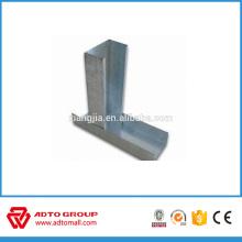 Vente chaude matériau de construction métal goujon et chenilles fourrure en métal tailles