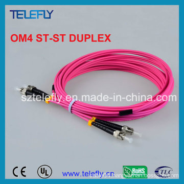Om4 St-St Fiber Patch Cord