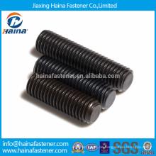 Legierung Stahl Sockel Schraube mit flachen Punkt
