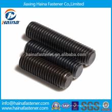 Alloy steel socket set screw with flat point