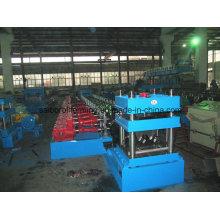 Машина для профилирования рулонных рельсов с двухступенчатым редуктором