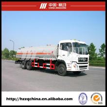 El fabricante chino ofrece un nuevo camión cisterna de aceite (HZZ5255GJY) en venta