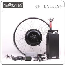 MOTORLIFE / OEM CE ROHS passar 48v 1500w kit rack de conversão de ebike