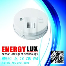 Es-S01 Popular 9V DC Battery Wireless Sensor Smoke Alarm