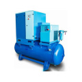 High quanlity Portable Screw Air Compressor combined with air dryer and air filter