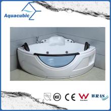 Corner Massage Bathtub in White (AB0806)