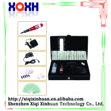 Hot selling permanent makeup kit beginner tattoo kit with tattoo kit carrying cases