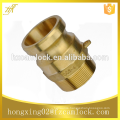 """Stainless Steel 316 Camlock Couplings type F, male BSP, NPT thread, size from 1/2"""" to 6"""""""