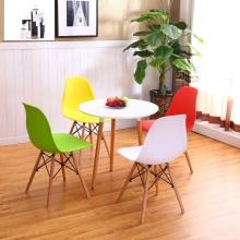 Moderna Eames silla sin brazo y sala de reuniones o comedor silla