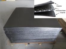 ग्रेफाइट के साथ पाल बांधने की रस्सी के लिए इस्तेमाल किया यौगिक पत्रक सम्मिलित करें धातु
