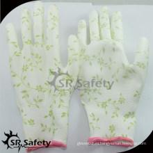 SRSAFETY 13 калибра PU садовая перчатка / Садовые рабочие перчатки