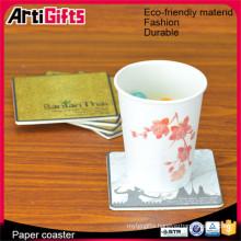 high quality cheap bulk paper coaster wholesale