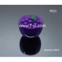 100ml Custom Lovely Grape Fruit Shape Cosmetic Jar