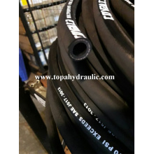 Parker 3 inch rubber excavator hydraulic flexible hose