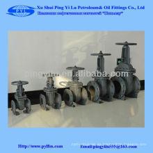 Válvula de acero fundido dn125 pn16