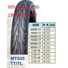 Moto pneu 2.50-16 2.50-17, 2.75-16 2.75-17