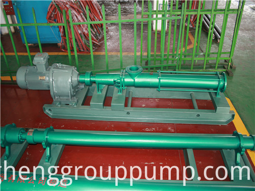 Internal mesh volume pump.