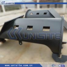 Tube en acier pour structure sur dragueur (USC-4-013)