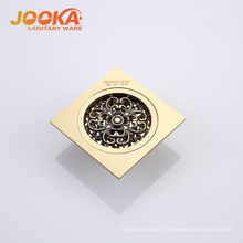 Customized design gold floor drain