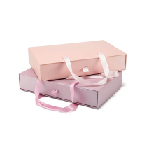 Vacker Design High End Pink Lock Packaging Box