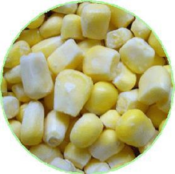 Juicy and delicious sweet corn