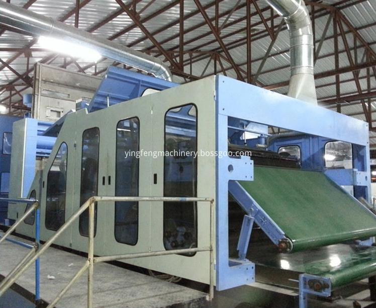 geotextile needle punching production line
