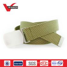Fabricante grossista de cintos de tecido masculino