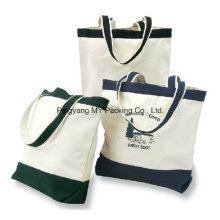 Portable Packaging Canvas Bag, Carry Cotton Bag