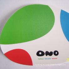 Benutzerdefinierte Soft Gel Runde Anti-Rutsch-Mauspad mit Kissen