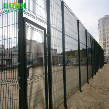 3D Curvy PVC Metal Welded Wire Mesh Fecning