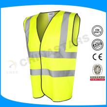 2015 popular style reflective neck v vest for roadway safety