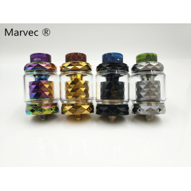 Marvec baru kedatangan drip tips resin RTA vape