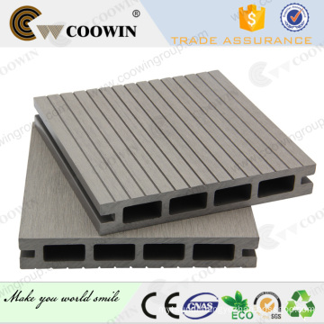Eco-friendly wood-plastic composite decking