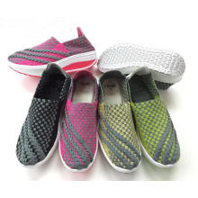 New Design Handmade Weave Casual Walking Shoes
