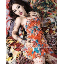 2015 new fashion tattoo skin sleeve as temporary arm tattoo