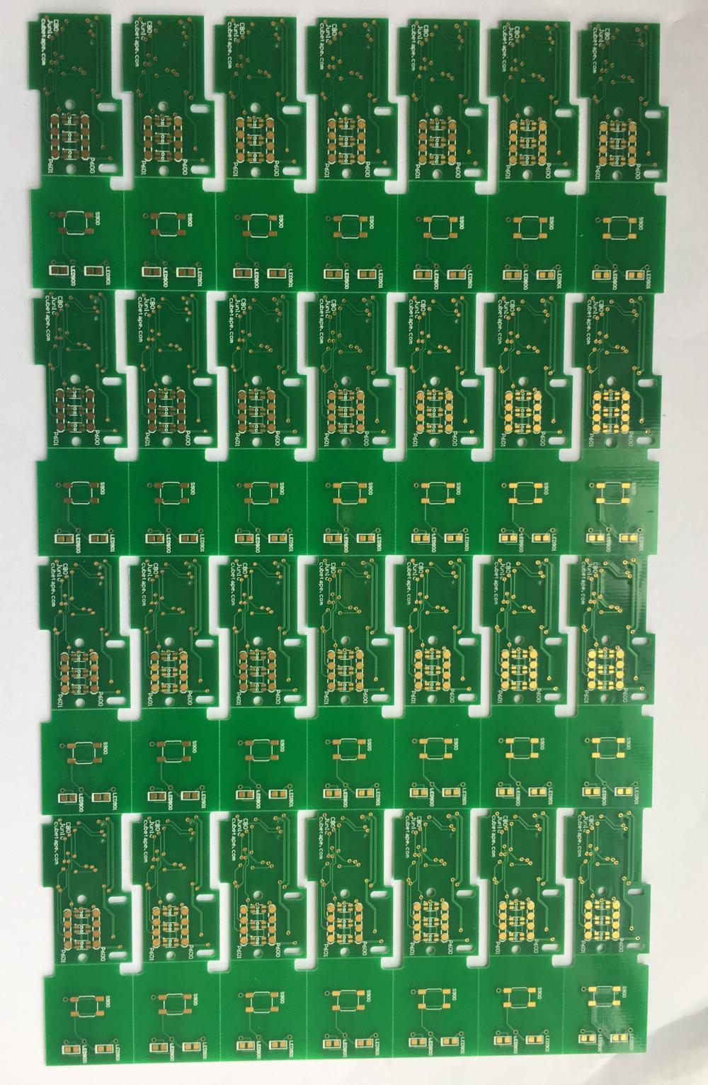 2 layer FR4 TG170 0.6mm ENIG PCB