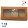 Caixa de presente de chocolate elegante com janela de PVC