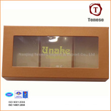 PVC Fenster Schokolade Box mit Divider