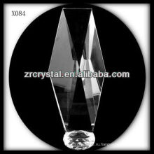 привлекательный дизайн пустой кристалл награда X084