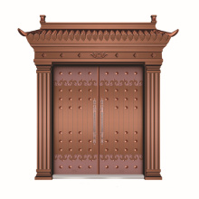 Porte de cuivre conception réalisée en Chine photo cadre cuivre porte
