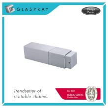 Квадра закрутки и спрей матовый серебро многоразового флакон 20мл