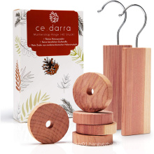 Kindome customized high quality cedar rings accessories wholesale