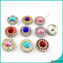 Кнопки шинни камень для кожаный Браслет ювелирных изделий (B16041817)